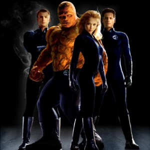 Fantastic Four Pose