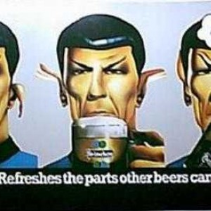 Spock Heineken Beer Ad