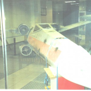 X-Wing in a mall