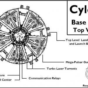 Schematics - Cylon Basestar