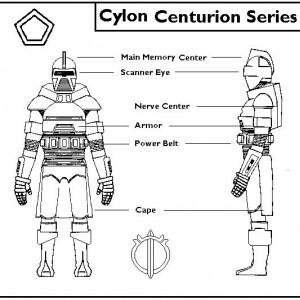 Schematics - Cylon Centurion