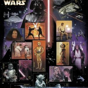 (US) Star Wars stampsheet