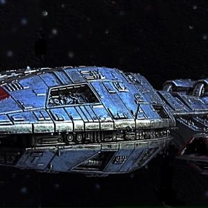 Mercury class Battlestar Pegasus