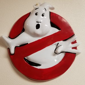 Ghostbusters Logo Wall Hanging