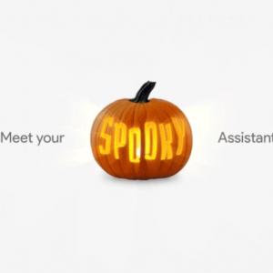 Google Home Assistant Halloween